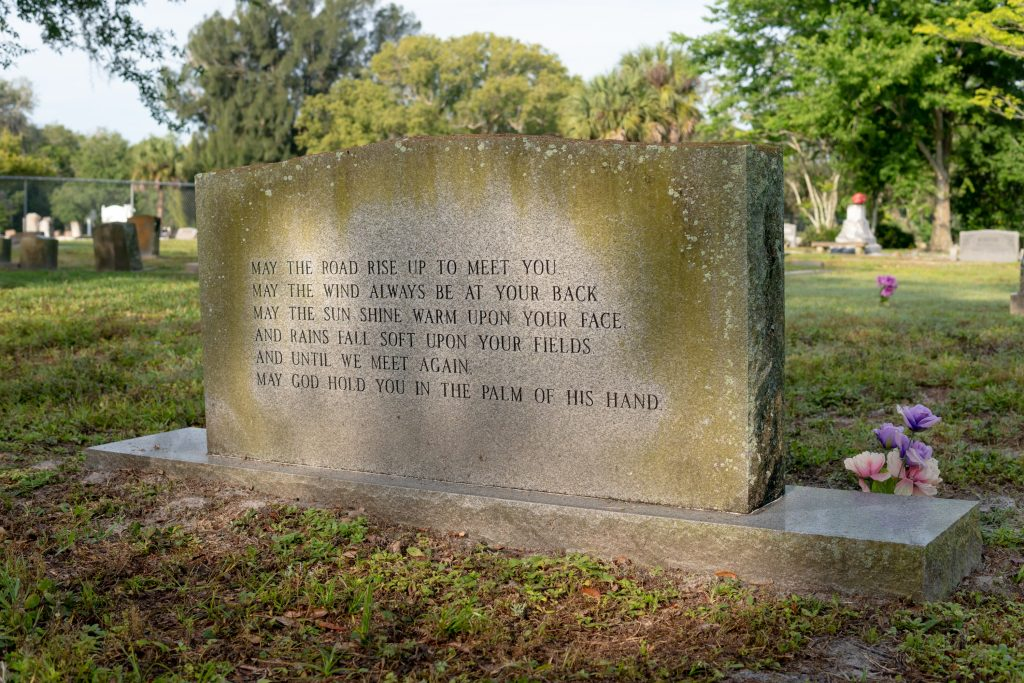 Tombstone with Quote